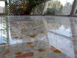 Melbourne Florida terrazzo restoration