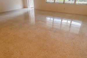 Terrazzo in Florida after SafeDry polishing