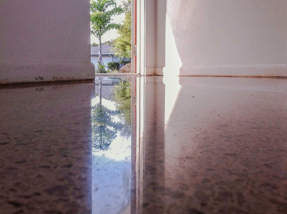 Terrazzo restored by SafeDry in Florida
