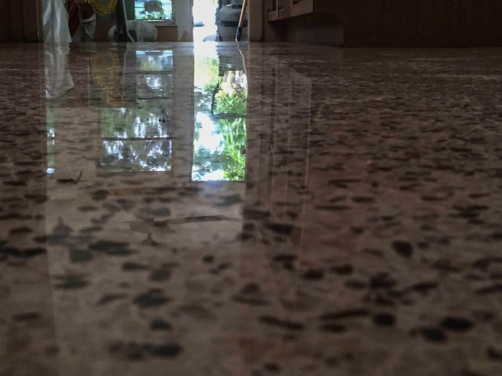 Diamond Polished Terrazzo In Central Florida
