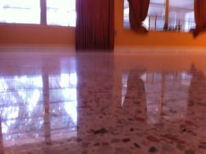 After SafeDry Terrazzo Polishing