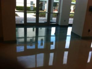 This image is from a terrazzo restoration done at Florida Gulf Coast University
