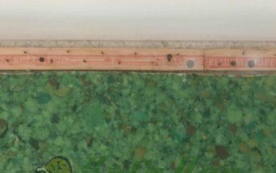 Improperly Installed Tack Strip
