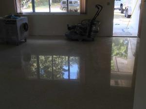 Terrazzo Restoration in Pasco County, Florida by SafeDry
