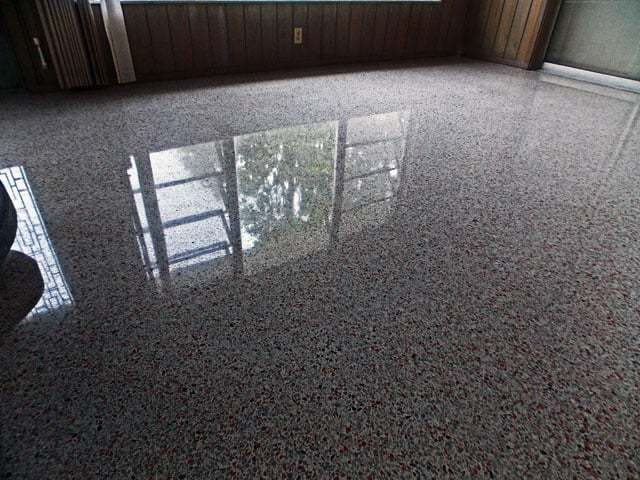 Terrazzo Restoration Fort Myers dry diamond terrazzo floor restoration