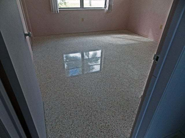 Terrazzo Restoration Fort Myers done with dry polishing system