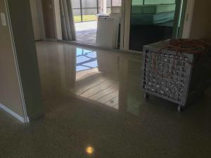 Terrazzo floor maintenance