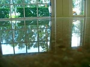 terrazzo diamondpolishing reflection