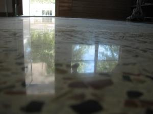 Not all terrazzo restoration is equal, this floor was diamond polished