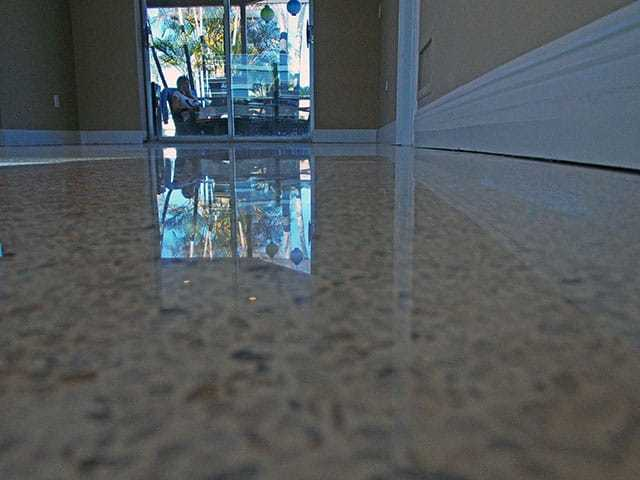 Terrazzo restoration after picture