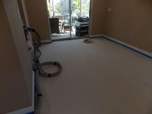 This is a floor in Marco Island before being restored by SafeDry