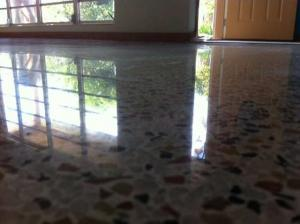 Terrazzo Restoration done by SafeDry in the Englewood Florida Area