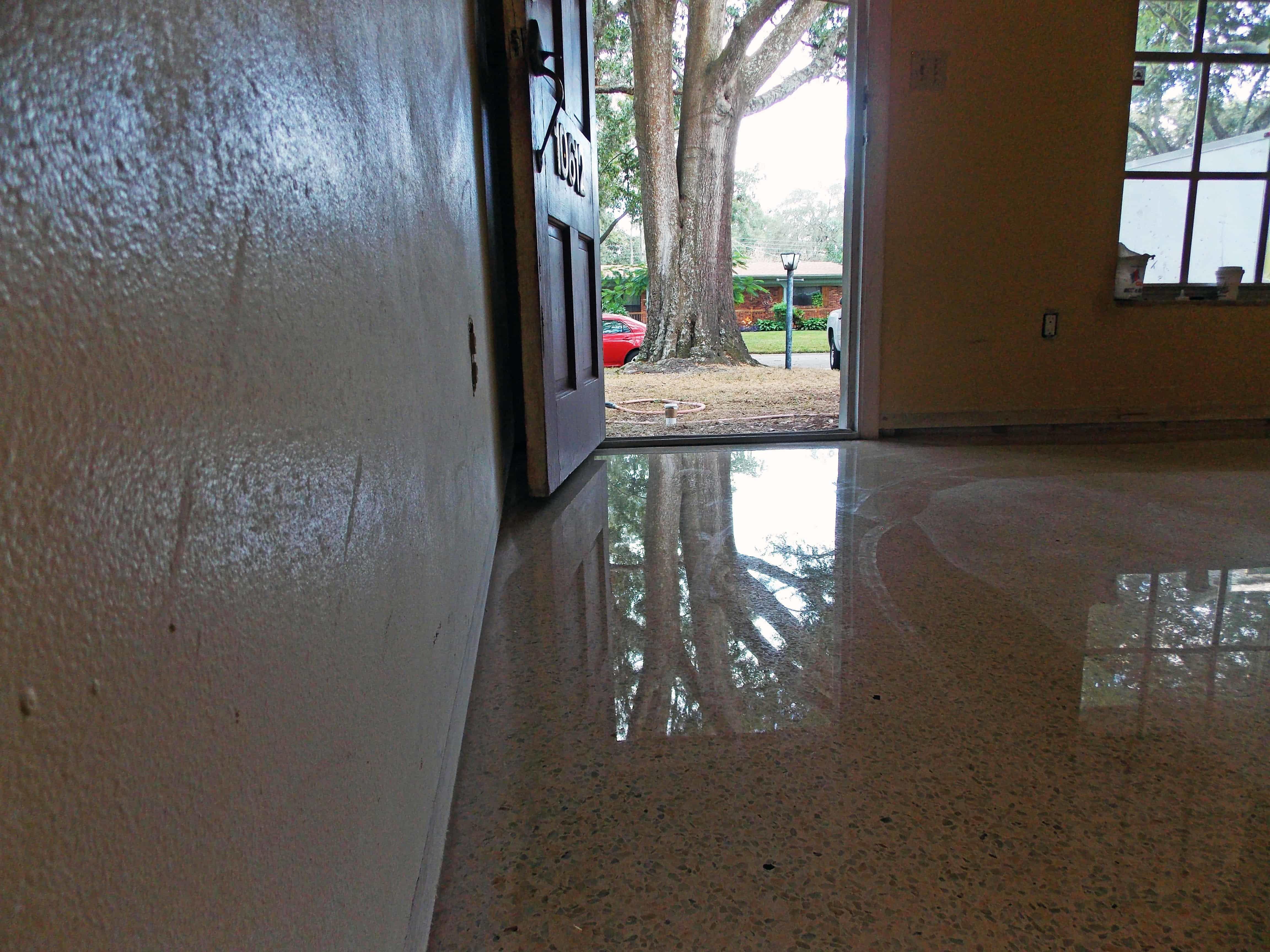 Diamond Polished Terrazzo Floor
