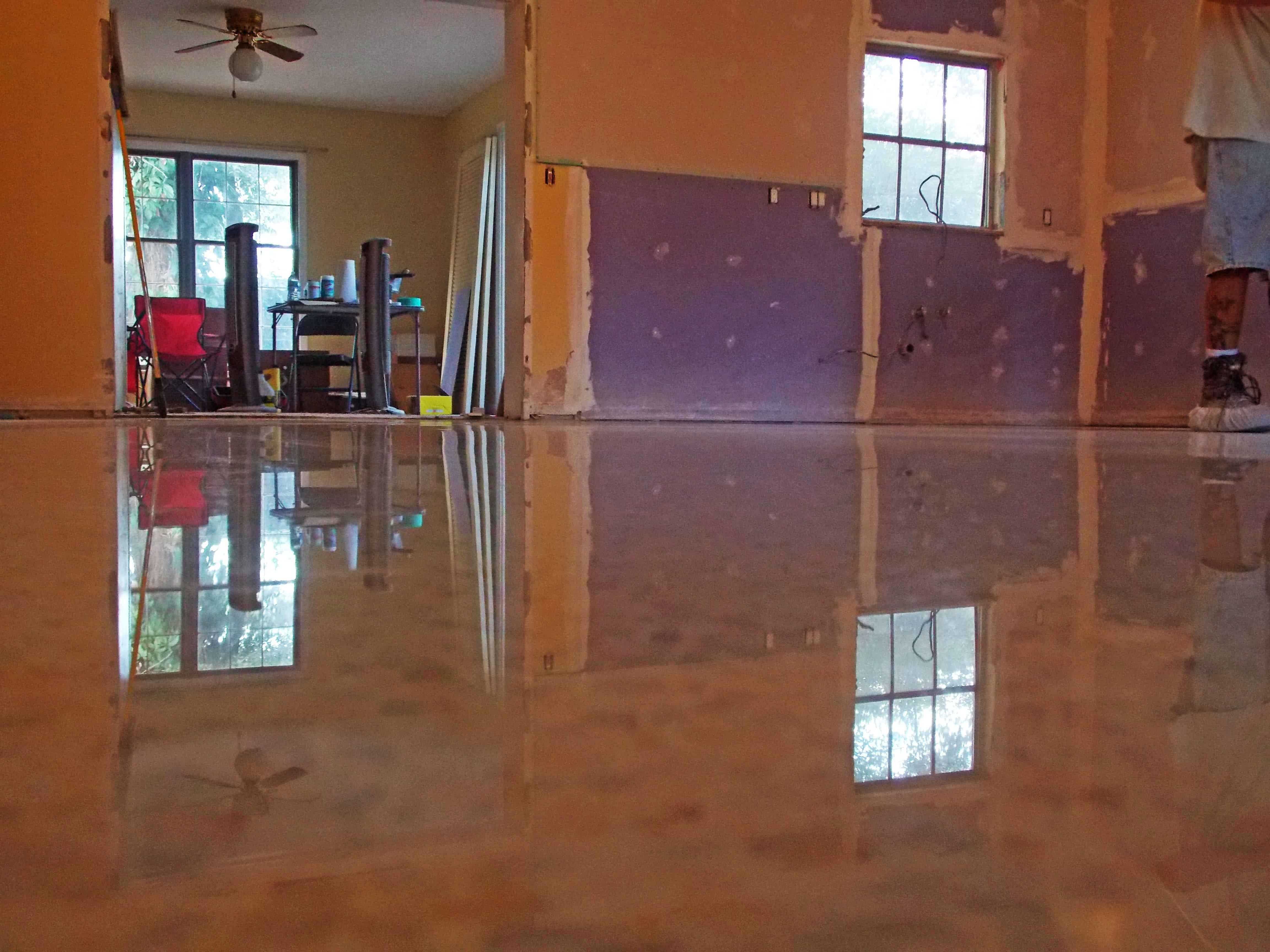 Diamond Polished Terrazzo Floor from Tampa, Fl