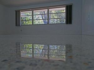 terrazzo restoration North Port Florida with no topical finish or sealer